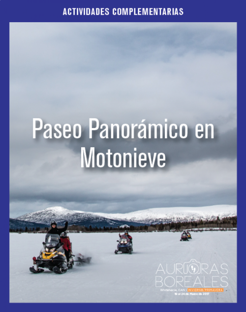 Paseo Panorámico en Motonieve