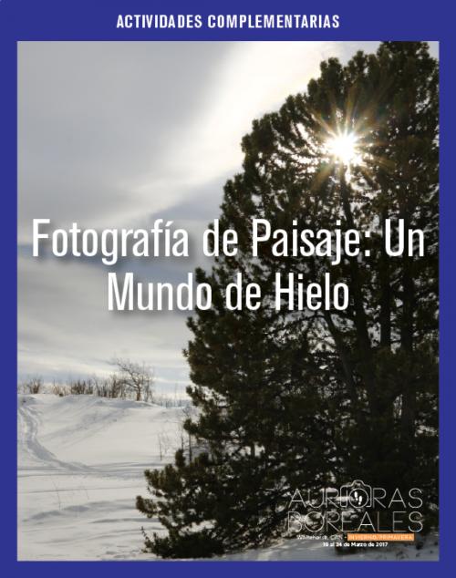 Fotografía de Paisaje: Un Mundo de Hielo