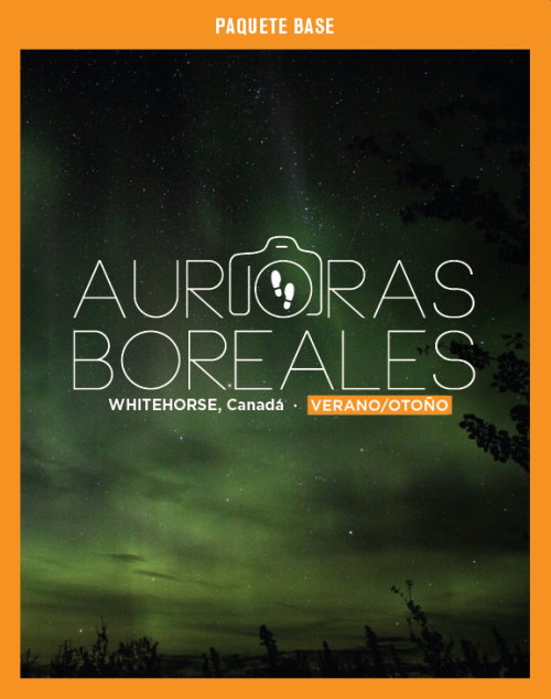 Paquete Base, Fotopaseo Auroras Boreales, Edición Verano/Otoño 2017.