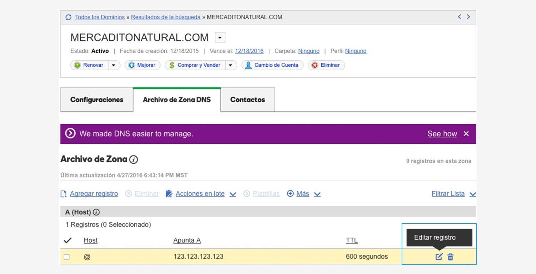 Archivo de Zona DNS