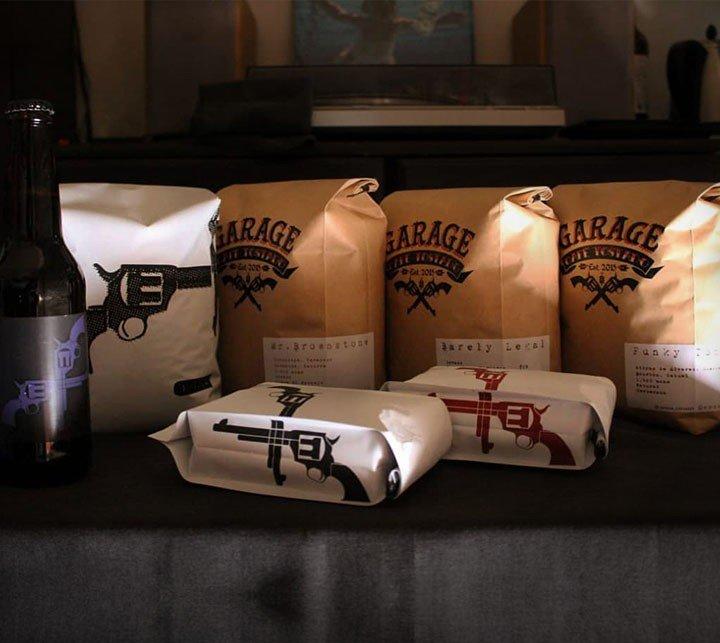 Pick a Pack en Garage Café Tostado