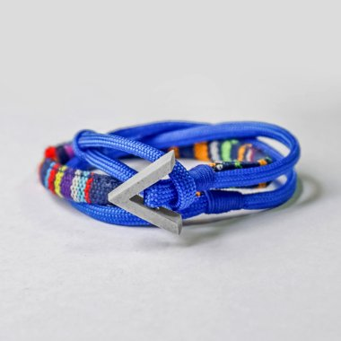 TRIANGLE ETHNIC BLUE