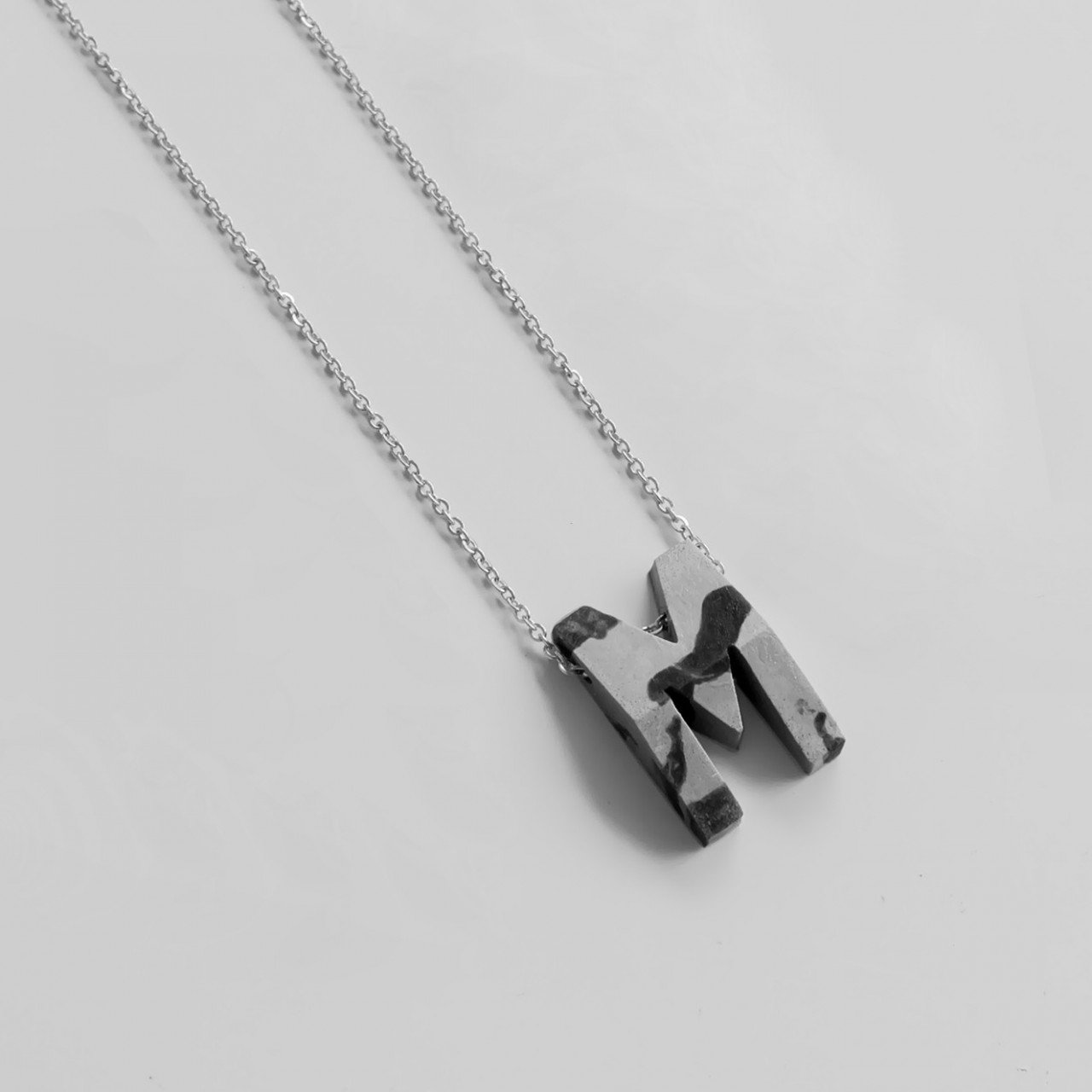 ABC MARBLE NECKLACE