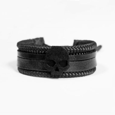 G SKULL DARK LEATHER II