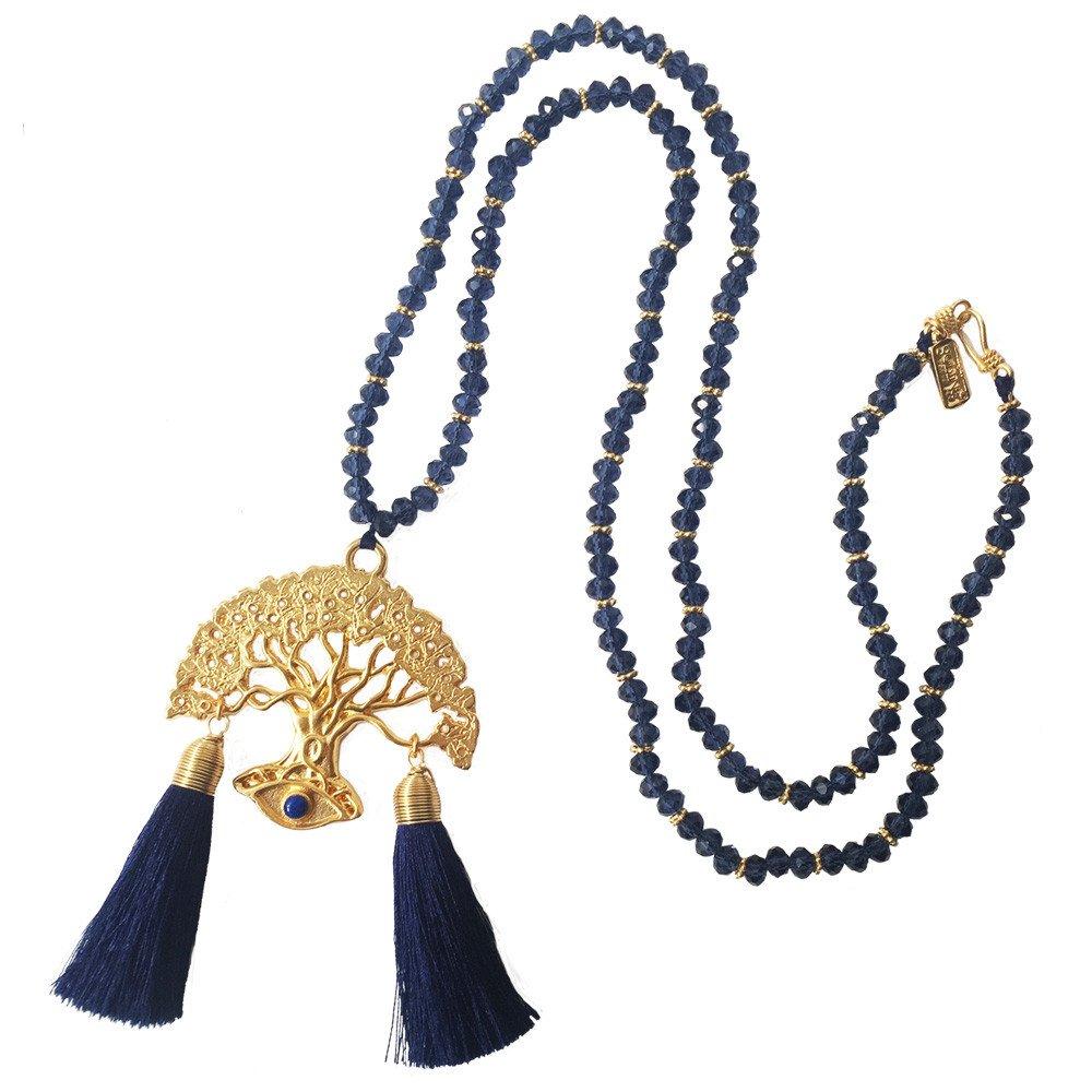 Collar Sonya Azul Marino