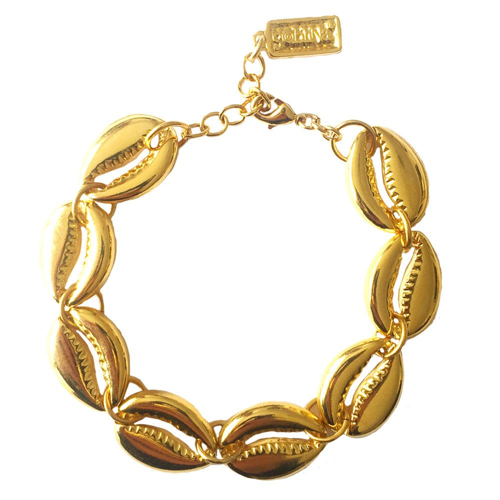 Pulsera Shell Brillante