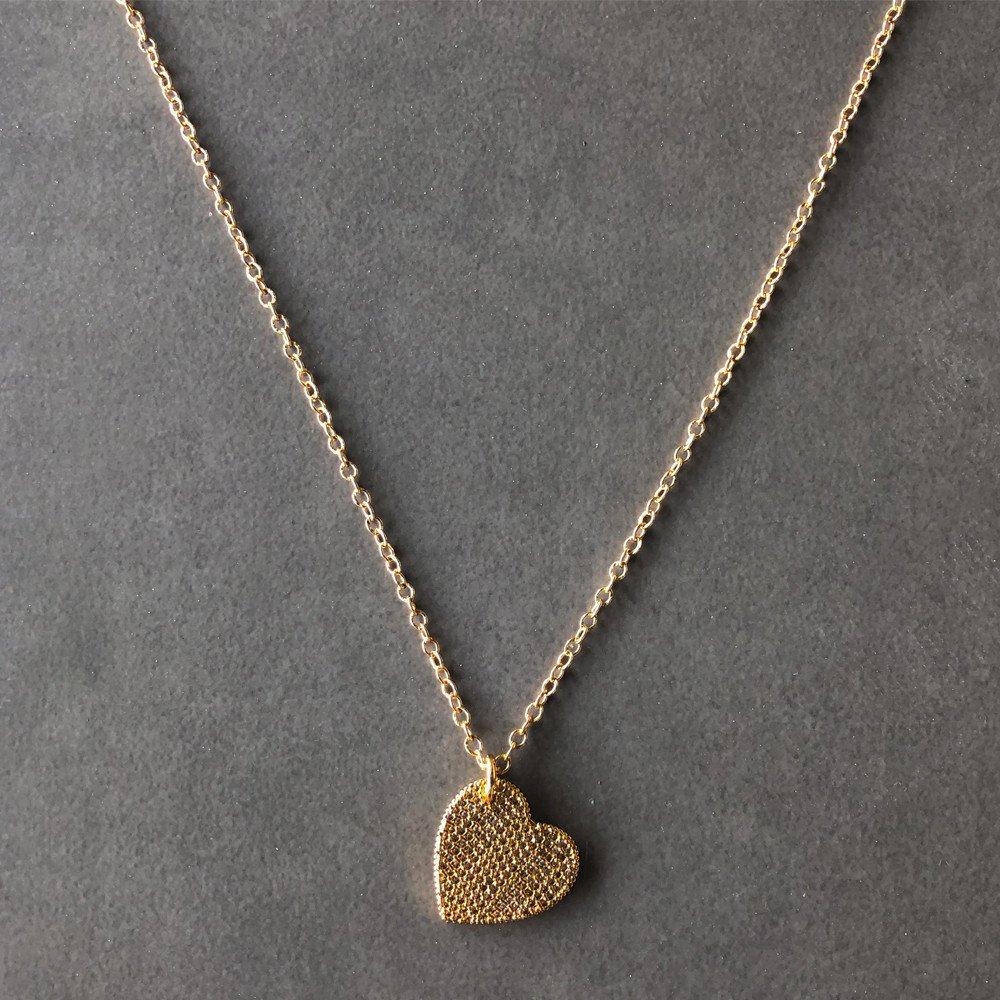 Collar Tessa Corazón/Circonias