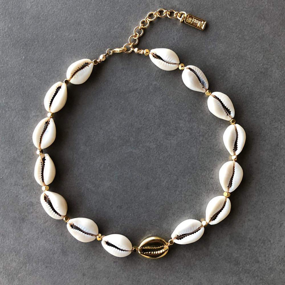 Collar Cowrie Natural