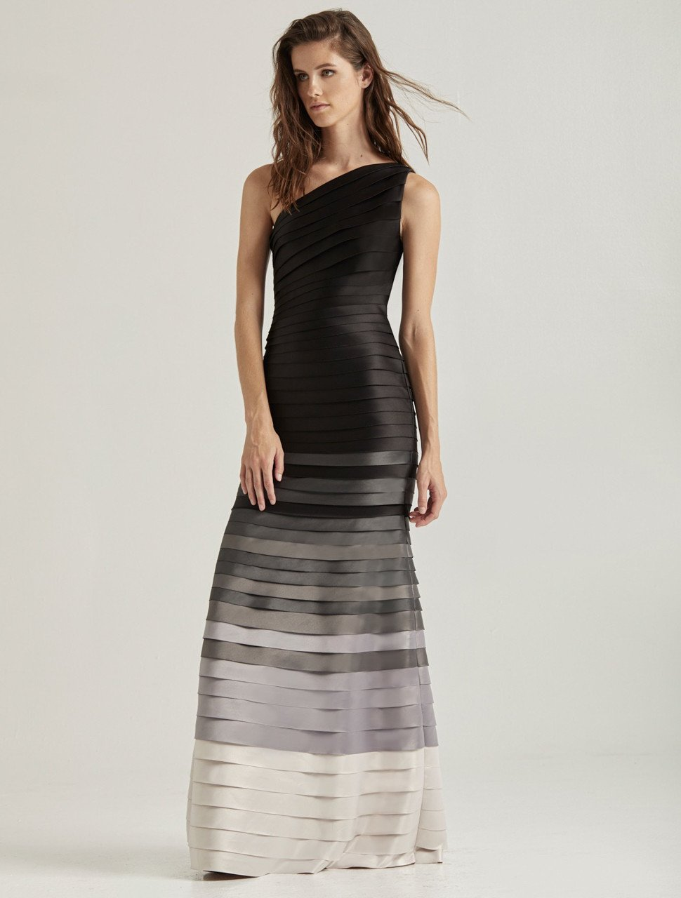 OMBRE STRIP GOWN
