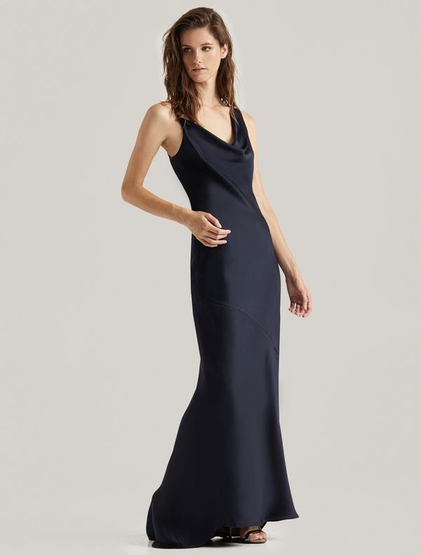 SATIN SLIP GOWN