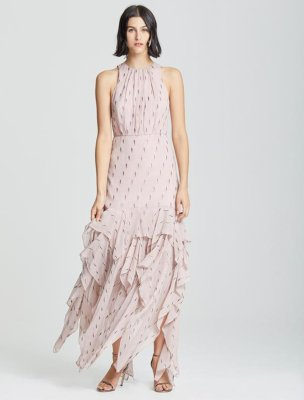RUFFLE SKIRT GOWN