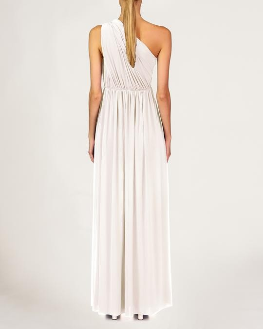 MICHAELA OS SHIRRED GOWN