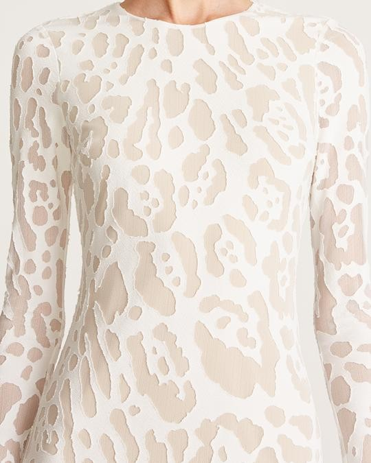 Adele Leopard Gown