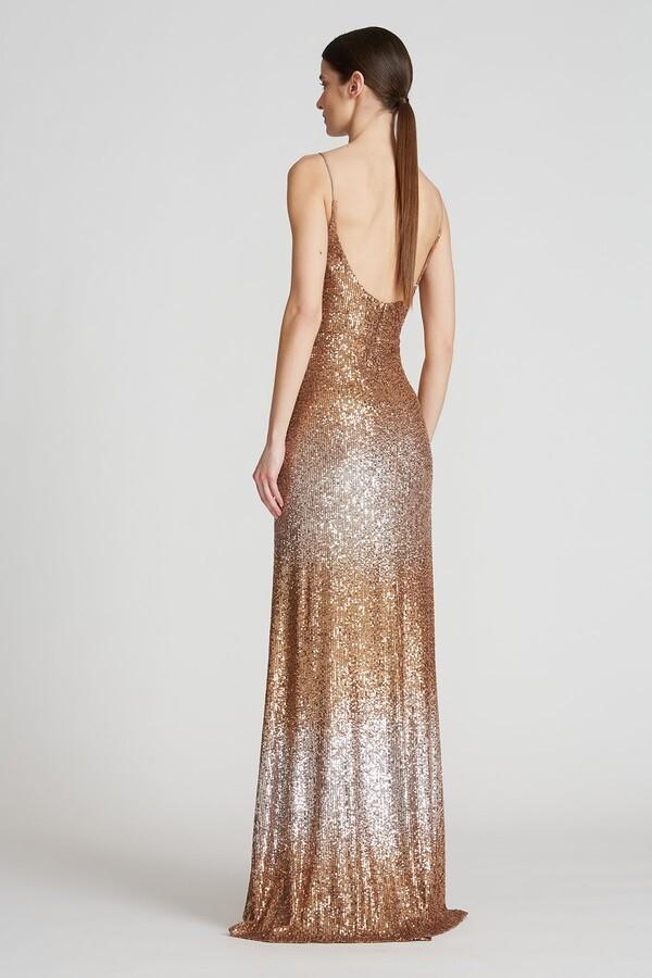 Norah Ombre Sequin Gown