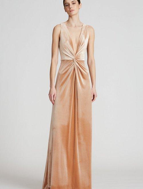 Kinsey Velvet Gown