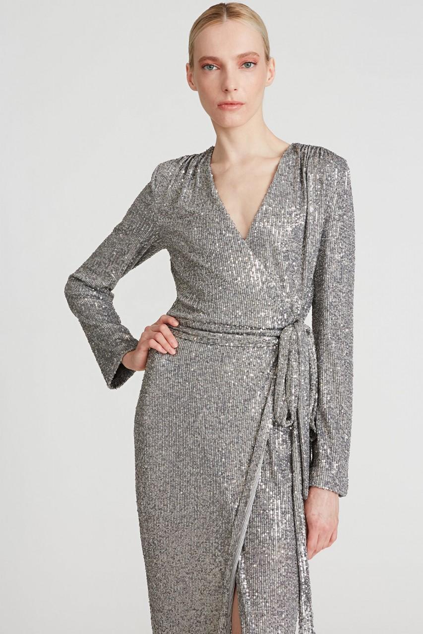 Falan Sequin Cocktail Dress