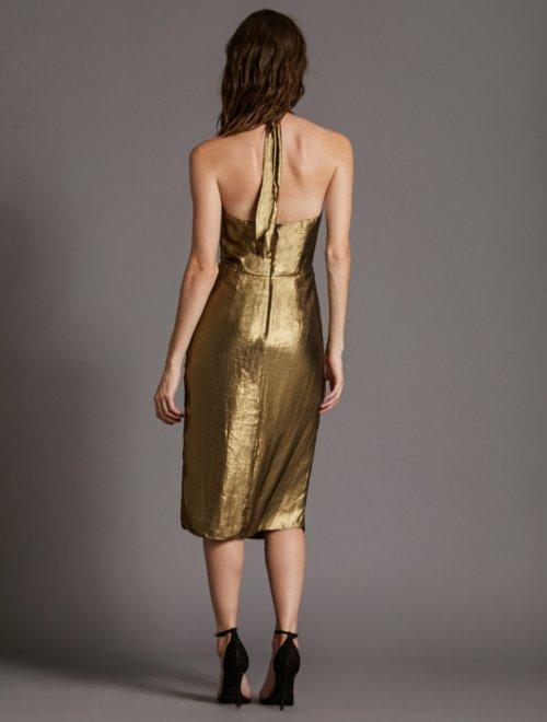 FOIL GEORGETTE DRESS