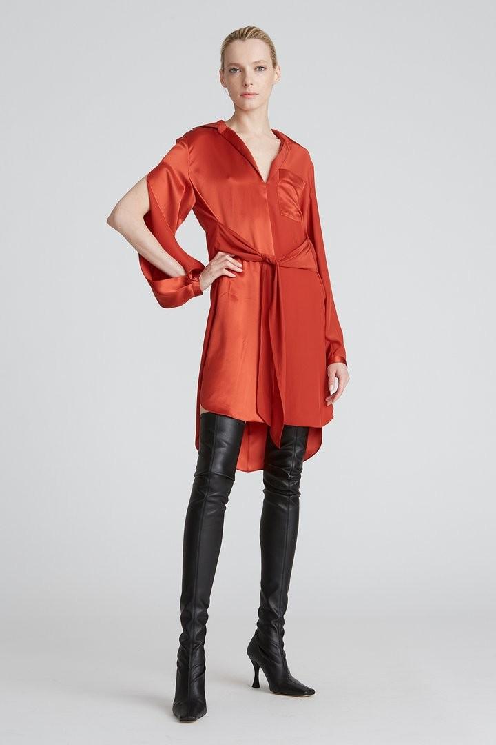 Janelle Charmeuse Dress