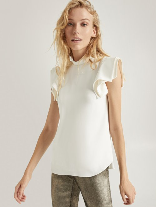 ARCHITECTURAL SLEEVE TOP