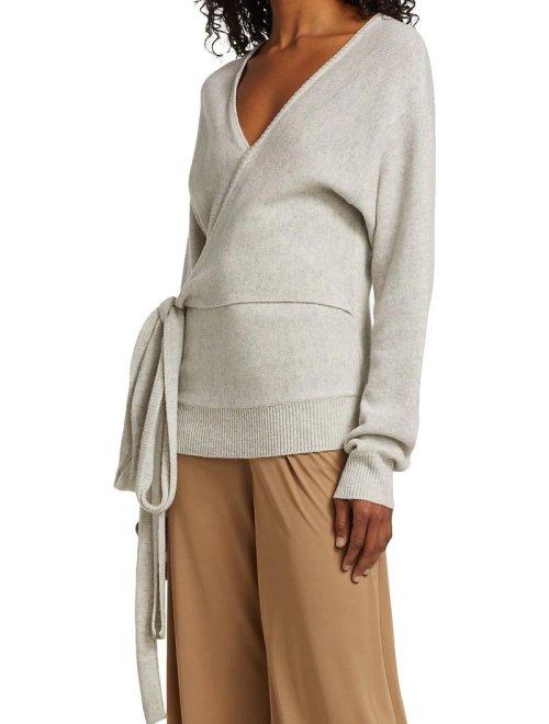 Lara Wrap Sweater