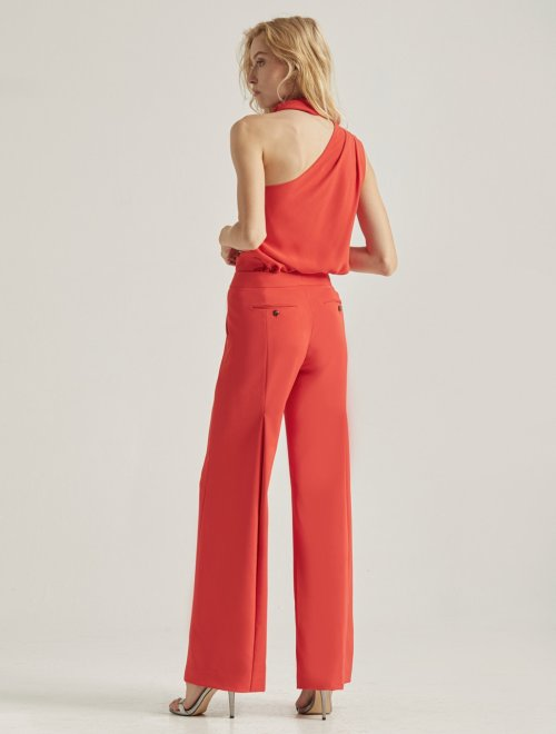 BACK PLEAT PANT