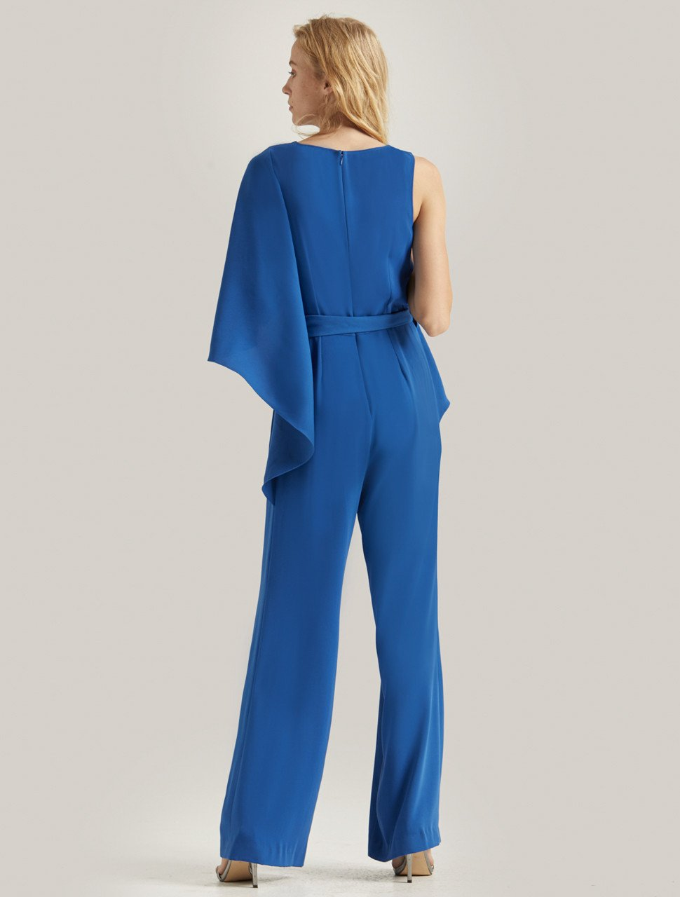 FLOWY DRAPED JUMPSUIT