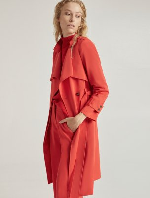 SUITING TRENCH COAT
