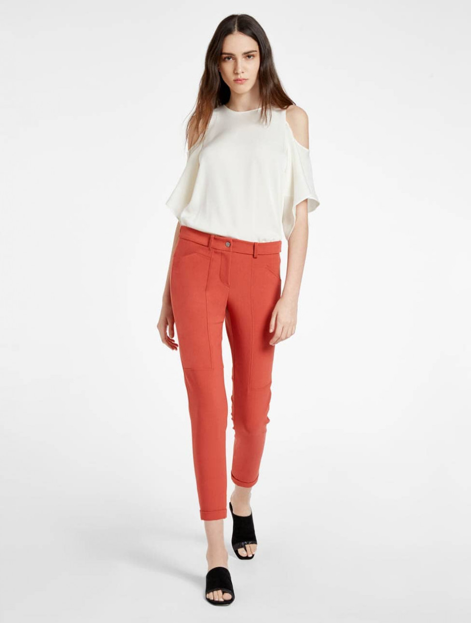 PANTALON SLIM CONICO AL TOBILLO
