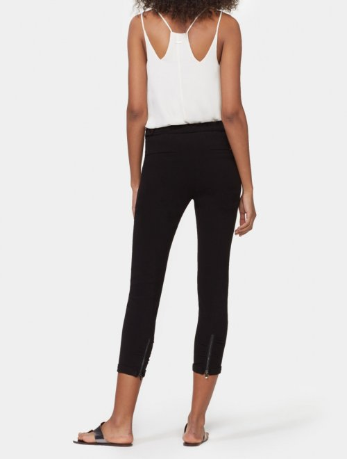 RUCHED ANKLE PANT