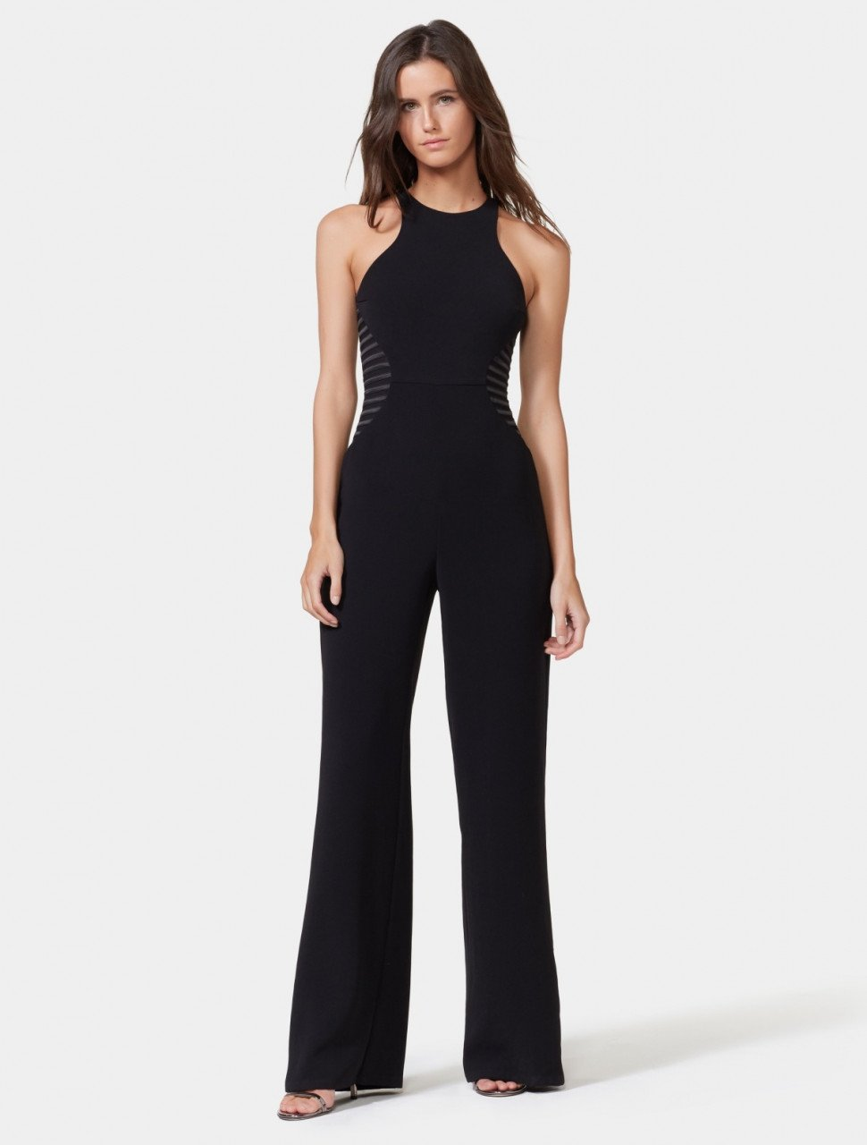 SIDE STRIP JUMPSUIT