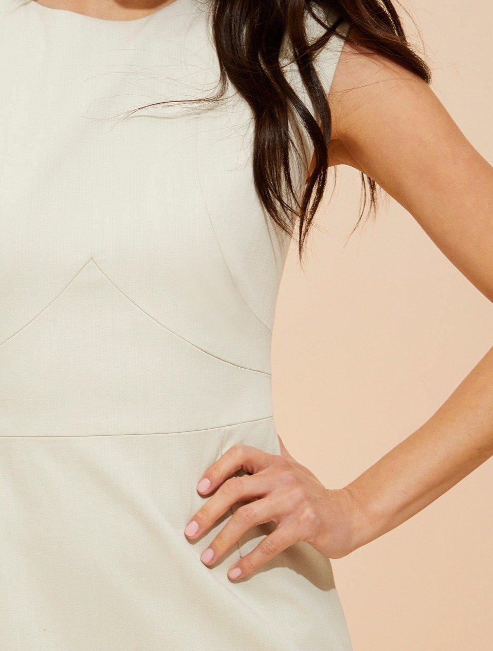 FLOUNCE SKIRT COTTON DRESS