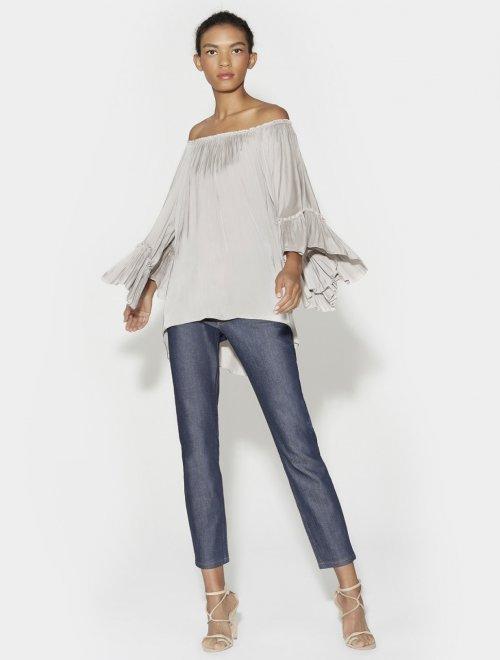 blusa strapless