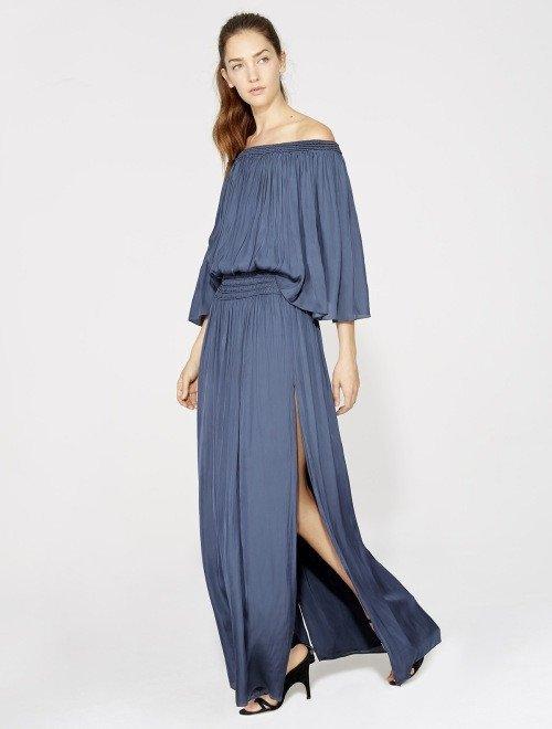 vestido flowy