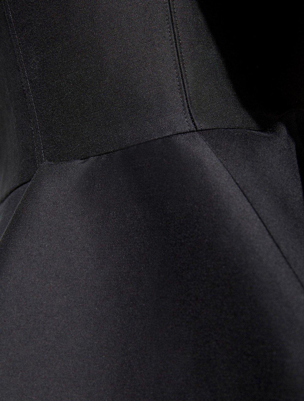 CAP SLV V NECK DRESS W PEPLUM