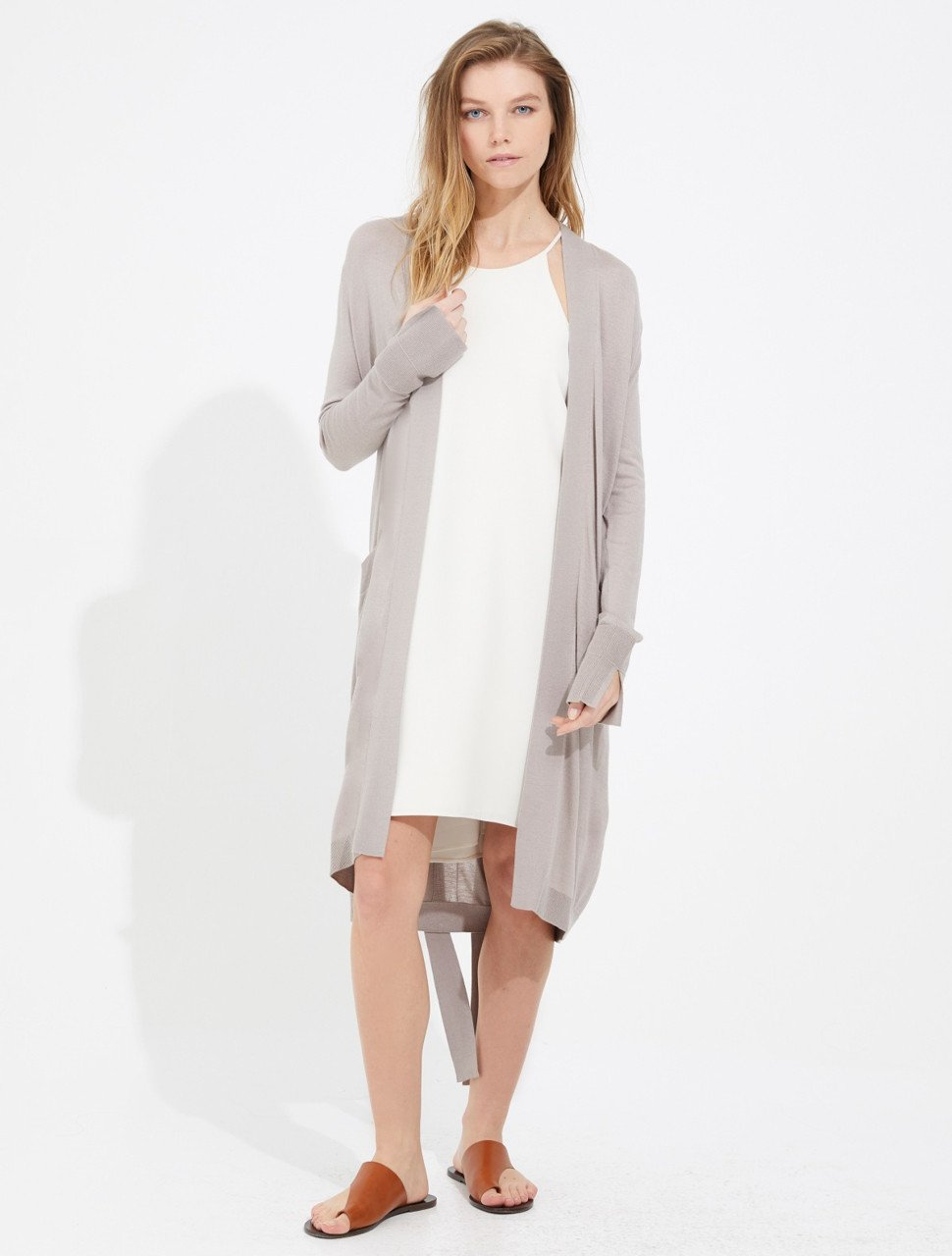 SILKY CASHMERE CARDIGAN