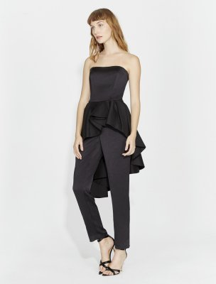 JUMPSUIT SATIN COMBO
