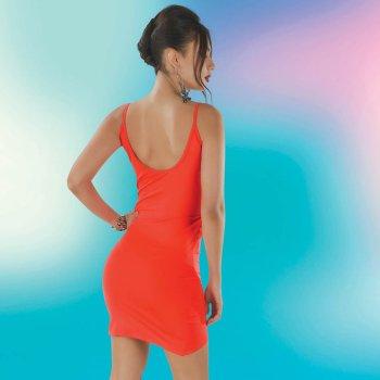 Vestido Kerem Naranja