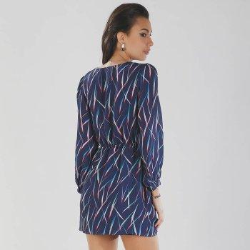 Vestido Violeta Multicolor