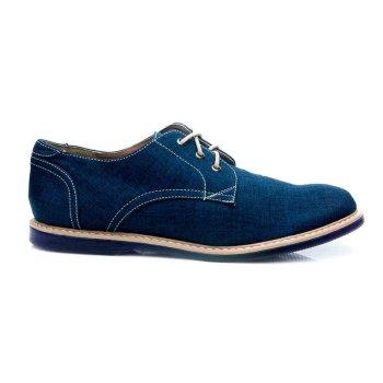 Zapatos Casuales Ron Azul
