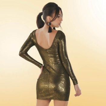 Vestido Vera Oro