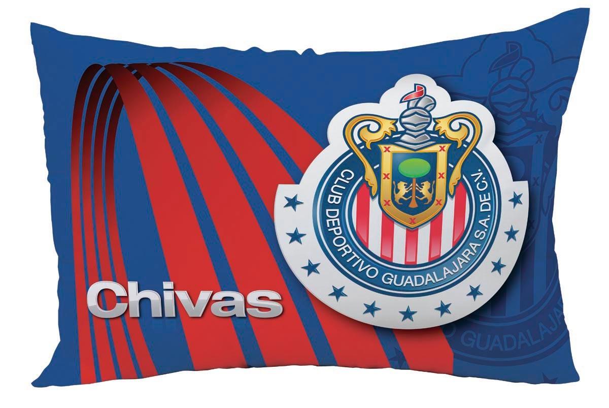 ALMOHADA CHIVAS RAYADAS