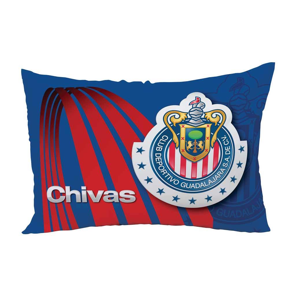 Almohada Chivas Roji Blanco