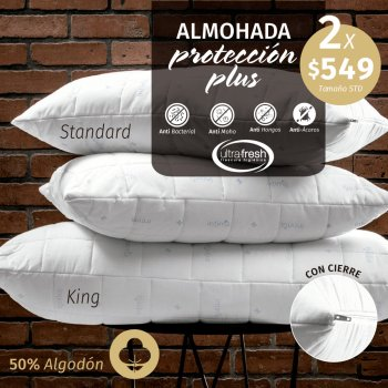 ALMOHADA PROTECCION PLUS