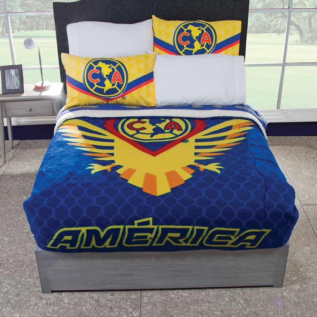 Cobertor Fleece con Borrega Americanista