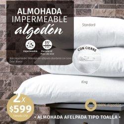 ALMOHADA IMPERMEABLE