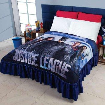 Colcha Liga de la Justicia Superheroes