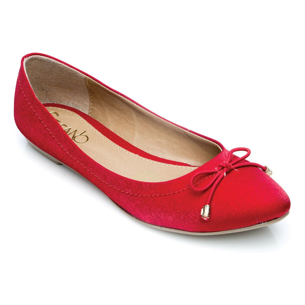 FLATS EBBA COLOR  ROJO 527637