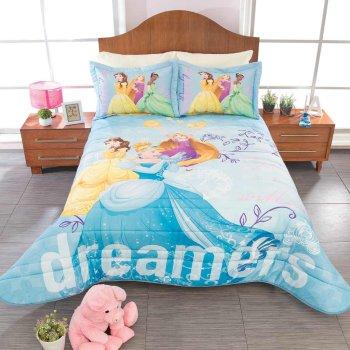 Juego de Edredon Ligero Princesas Dream