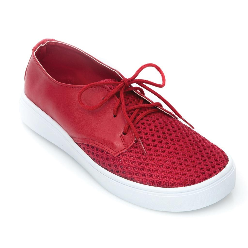 TENIS LAIO COLOR ROJO 527172