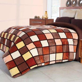 Cobertor Flannel Con Borrega Madeira